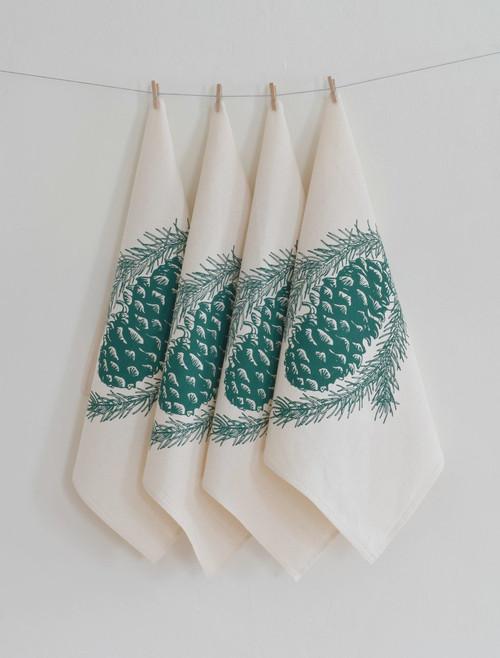 Organic Pine Cone Cloth Napkins