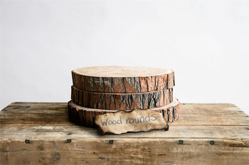 Wood Round Small (size may vary approx 6 inch)