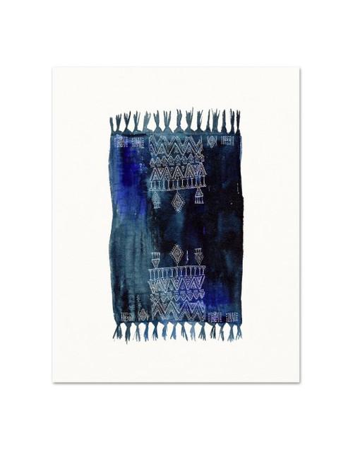 "Moroccan Rug Print #3 5"" x 7"""