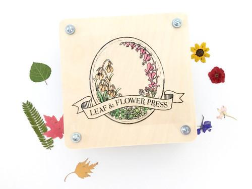Leaf + Flower Press