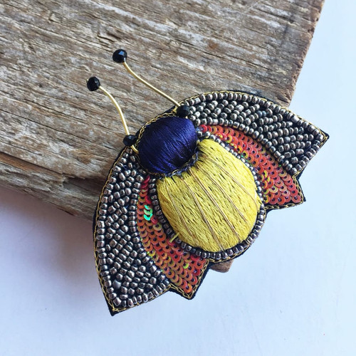 Bug Brooch Pin Sophie