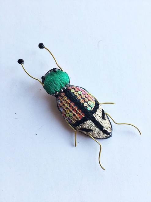 Bug Brooch Pin Alphie