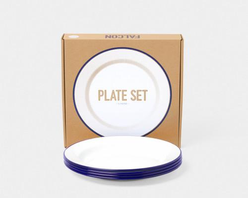 """9.5"""" Plate Set Enamelware"""