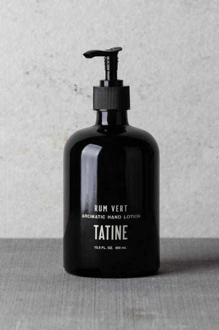 Rum Vert Aromatic Hand Lotion Tatine
