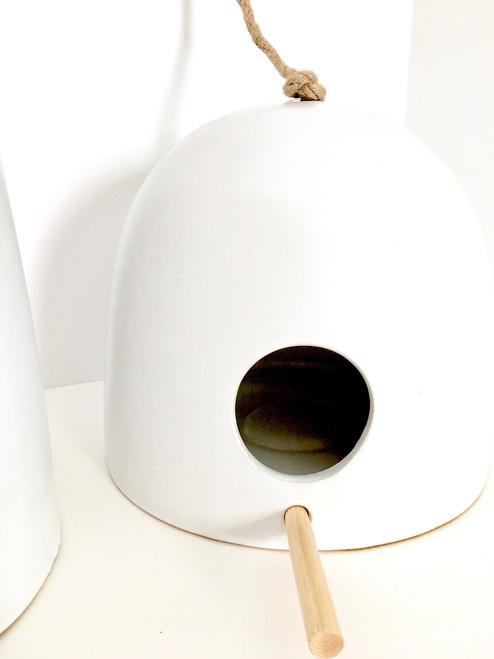 Ceramic Birdhouse Small