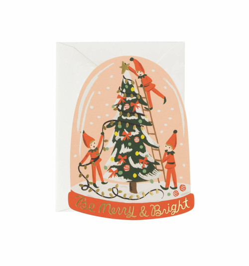 Be Merry and Bright Elves Card Boxed Set of 8