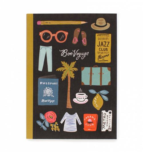Bon Voyage Travel Essentials Journal