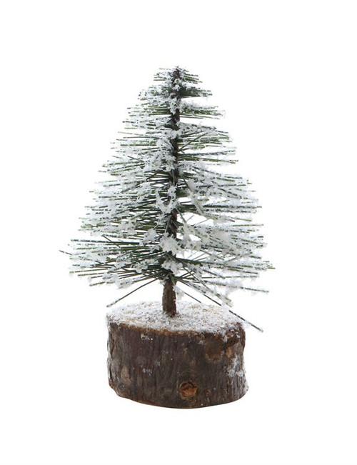 """3""""- 4"""" Bottle Brush Christmas Tree"""