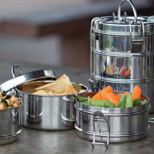 3 Tier Tiffin Stainless Steel Food Carrier