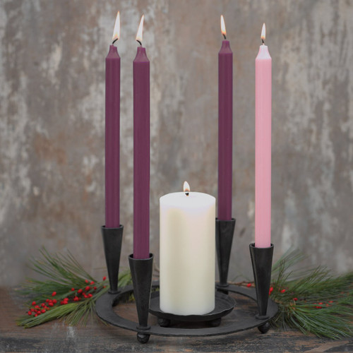 Advent Taper Candles