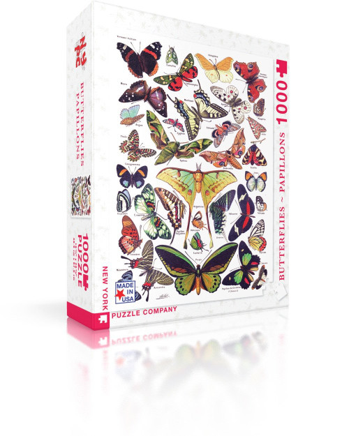 Butterfly Puzzle Papillons