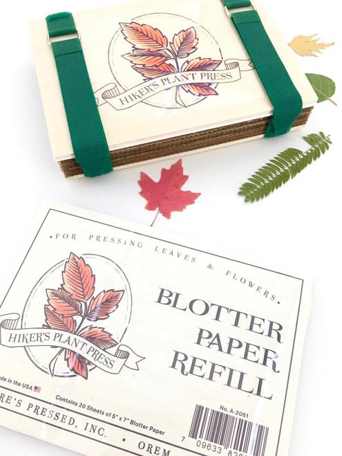 Hiker's Plant Press Blotting Paper Refill Sheets