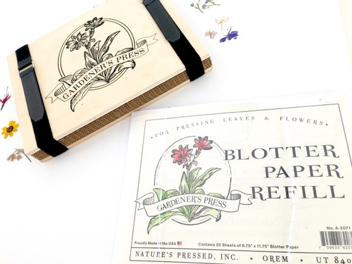 Gardener's Press Blotting Paper Refill