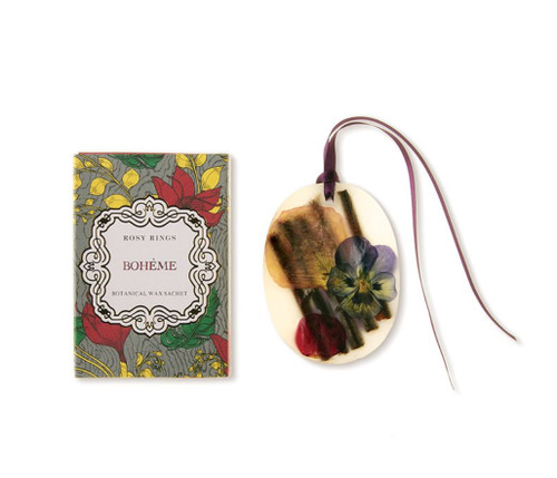 Oval Botanical Wax Sachet – Bohème