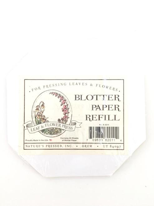Leaf & Flower Press Blotting Paper Refill