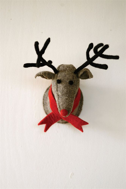 "Reindeer Wall Mount 11"" x 15"""