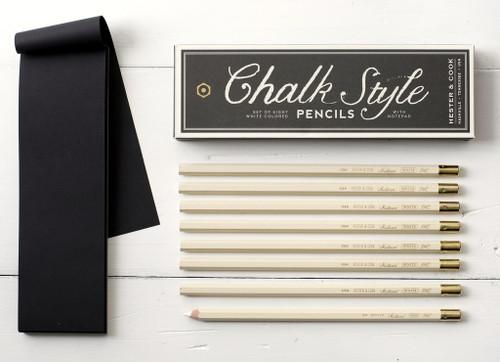 Chalk Style Pencil Set (DO NOT ERASE)