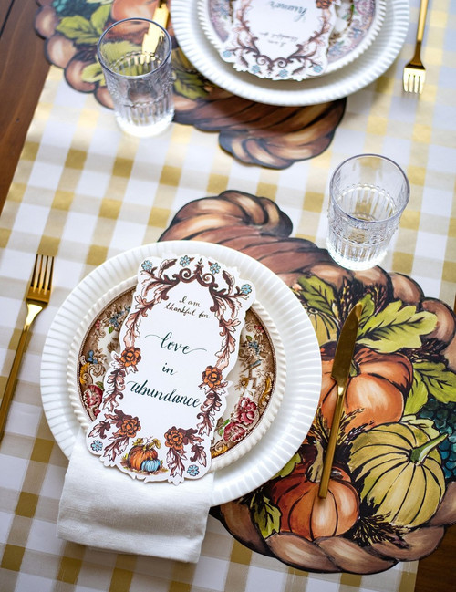 """""""I Am Thankful For"""" Table Accent 12 Pack"""