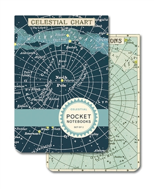 Celestial Pocket Notebook Set (of two)