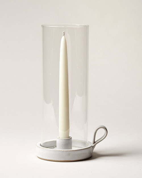 Silo Taper Hurricane Candle Holder