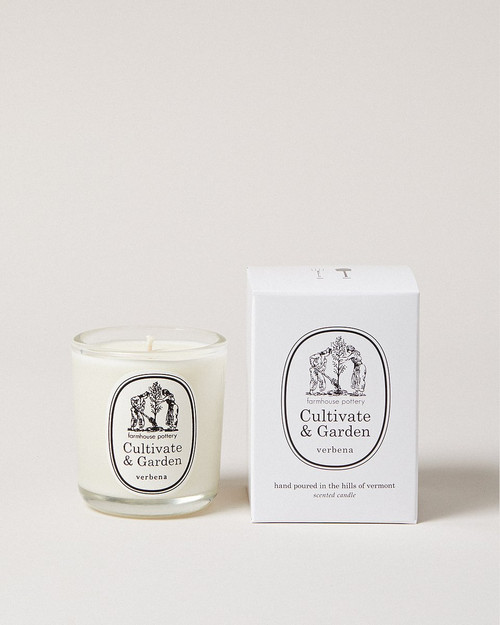 Cultivate and Garden Verbena Candle