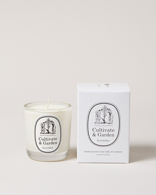 Cultivate and Garden Lavender Candle
