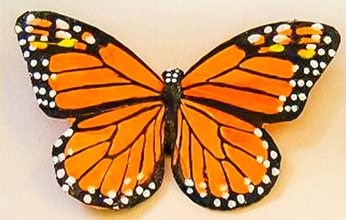 "Monarch Butterfly 7"" with Pick (each)"