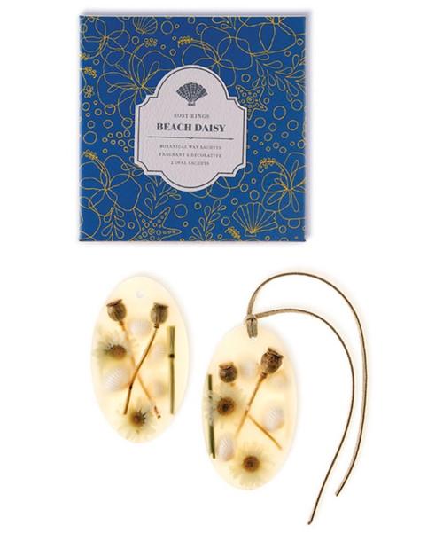 Oval Botanical Wax Sachets – Beach Daisy