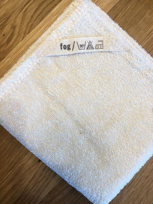 Linen Hand Towel in Cream