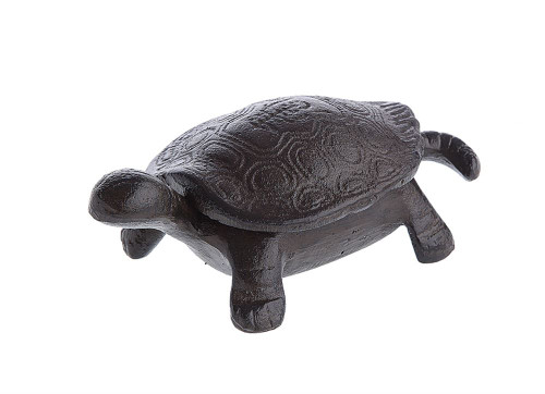 Cast Iron Turtle Key Box