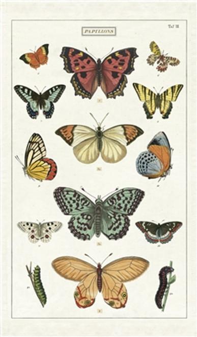 Butterfly Vintage Tea Towel