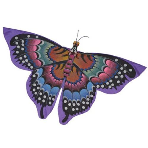 Purple Butterfly Bali Kite
