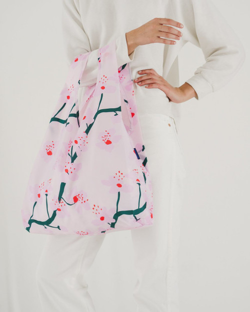 Baggu Standard Size in Cherry Blossom Pink