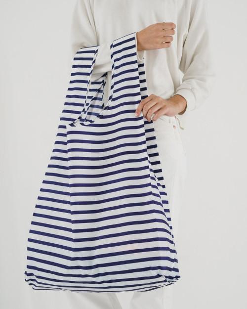 Big Baggu in Sailor Stripe Blue