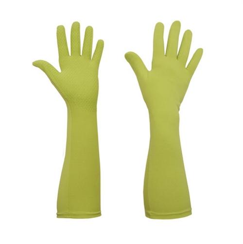 Foxgloves Long Gardening Gloves in Elle Grip Size LARGE in Spring Green