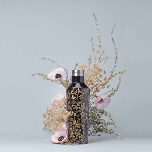 Corkcicle Rifle Paper Floral Hot Cold Canteen in Queen Anne