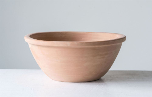 "Large Terracotta Bowl 13"" x 6"""