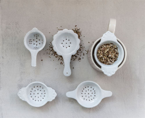 Tea Strainer available in 4 styles