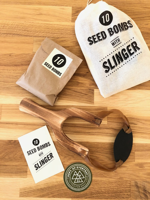 Seed Bombs with Slinger
