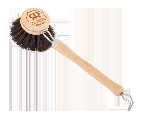 Beech Wood Dish Brush Black Horse Hair