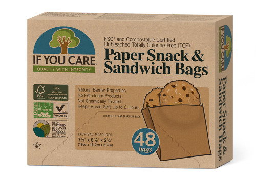 If You Care Certified Compostable Sandwich Bag