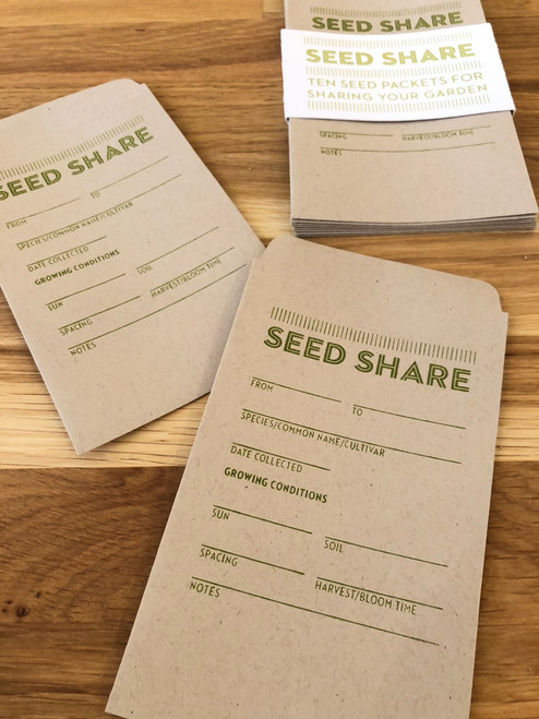 Seed Share Seed Packets