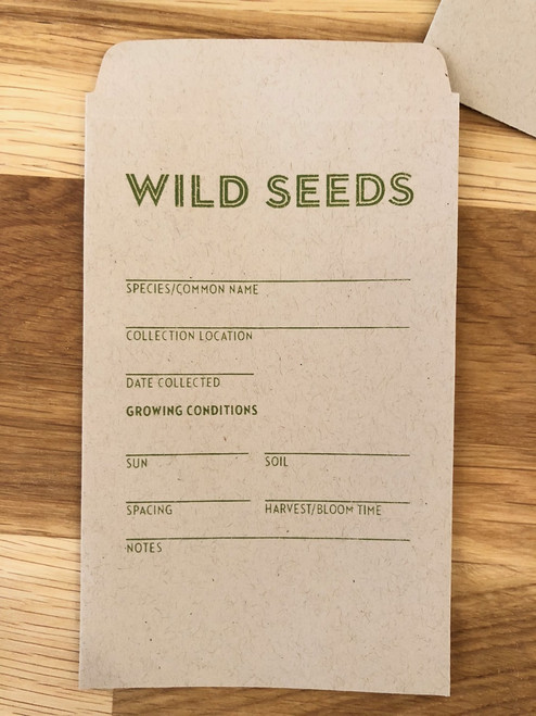 Wild Seeds Seed Packets