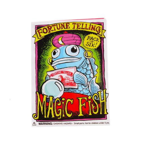 Fortune Telling Magic Fish Set of 6 Six