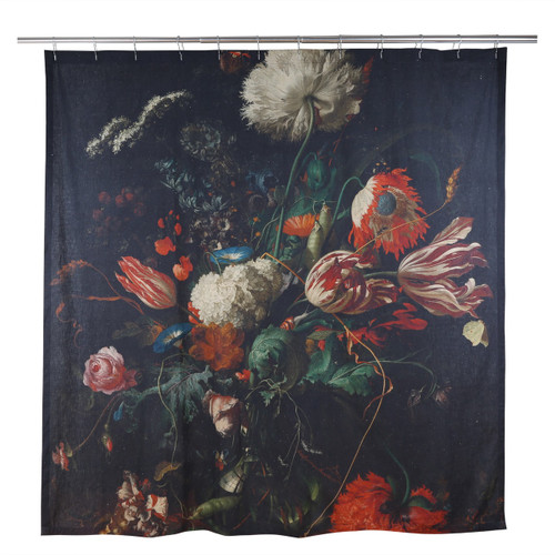 Antwerp Dutch Floral Still Life Shower Curtain