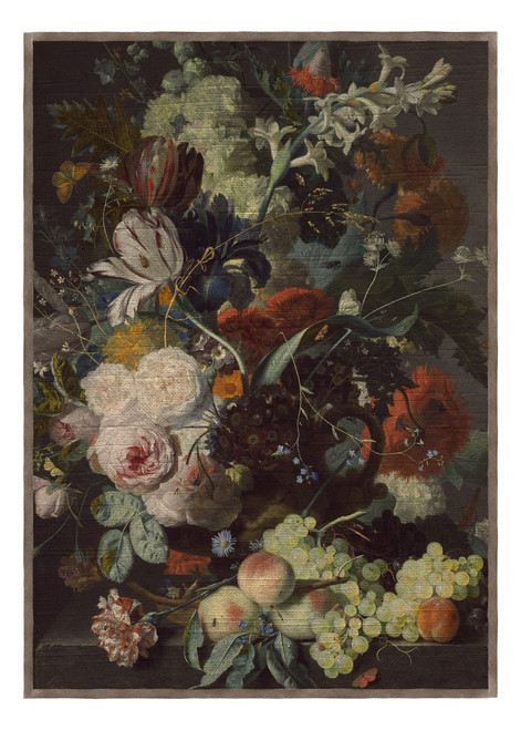 Old Masters Tea Towel in Antwerp Dutch Floral Still Life