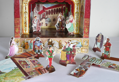 The Legends of King Matthias Story Pack of Characters and Scenes for Paper Theatres