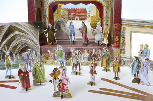 Romeo and Juliet Story Pack of Characters and Scenes for Paper Theatres
