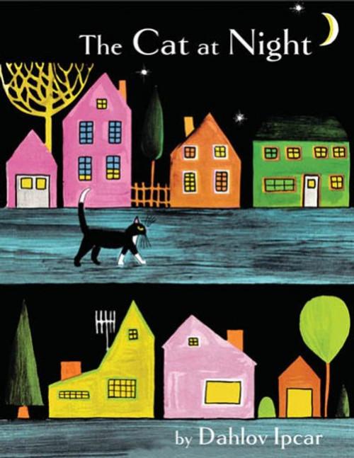 Dahlov Ipcar's The Cat At Night
