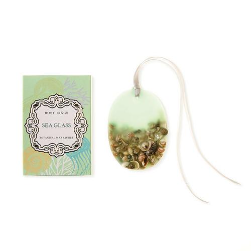 Sea Glass Botanical Wax Sachet